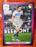 EURO2012 PANINI N. 336  BUFFON  STICKER NEW CON VELINA - Edizione Italiana