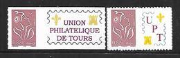 P173  Adhésif N°2802B Et 2802Bb Marianne De Lamouche N++ C 27,00 - France