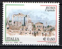 ITALIA - 2007 - ROMA CAPITALE - MNH - 2001-10: Mint/hinged