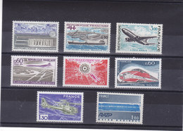FRANCE 1973-1975 GRANDES REALISATIONS Yvert 1750-1751 + 1772 + 1787 + 1802-1805 NEUF** MNH Cote : 6,10 Euros - France