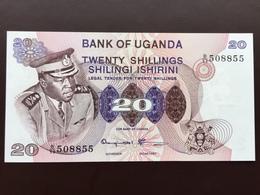 UGANDA P7C 20 SHILLING 1973 UNC - Uganda
