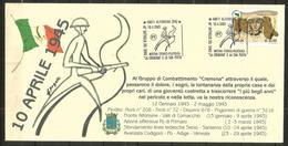 BATTAGLIA SUL SENIO ALFONSINE  Busta Con AS Bellissima - Reggimenti