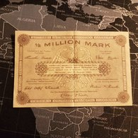 1/2 Million Mark 15 August 1923 Hannover - [ 3] 1918-1933 : République De Weimar