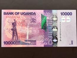 UGANDA P52 10000 SHILLING 2010 UNC - Ouganda