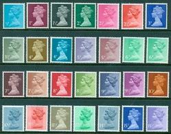 GB-Machins-1970- MH 22,etc.- MNH (**) - 1952-.... (Elizabeth II)