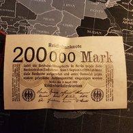 200000 Mark  Berlin 09 August 1923 - [ 3] 1918-1933: Weimarrepubliek
