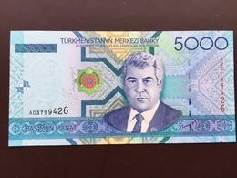TURKMENISTAN P21 5000 MANAT  2005 UNC - Turkménistan