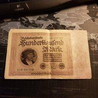 ALLEMAGNE - Reichbanknote - 100000 Mark - 01.02.1923 - [ 3] 1918-1933 : République De Weimar