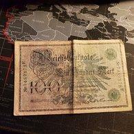 ALLEMAGNE - Reichbanknote - 100 Mark - 07.02.1908 - [ 2] 1871-1918 : Empire Allemand
