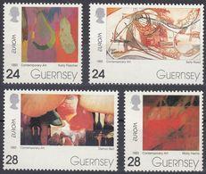 GUERNSEY - 1993 - Serie Completa Nuova MNH: Yvert 616/619, Europa, 4 Valori. - Guernesey