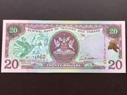 TRINIDAD TOBAGO P44 20 DOLLAR 2002 UNC - Trinité & Tobago