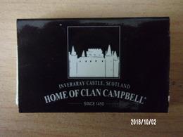 """Boite D'allumettes Vide """"Clan Campbell"""" - Boites D'allumettes"""