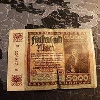 5000 Mark 2 December 1922 - 5000 Mark