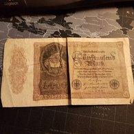 5000 Mark 19 November 1922 - [ 3] 1918-1933 : République De Weimar
