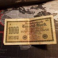 1000 Mark 01 Januar 1923 - [ 3] 1918-1933 : République De Weimar
