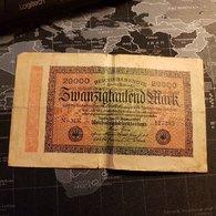 20000 Mark 20 Sebruar 1923 - [ 3] 1918-1933 : République De Weimar