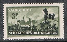 SARRE N°163 N** - 1920-35 Saargebiet – Abstimmungsgebiet