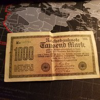 1000 Mark 15 September 1922 - [ 3] 1918-1933 : République De Weimar