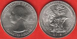 "USA Quarter (1/4 Dollar) 2018 P Mint ""Pictured Rocks"" UNC - 2010-...: National Parks"