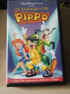 MONDOSORPRESA, (VHS) IN VIAGGIO CON PIPPO, DISNEY - ITALIANO - Dessins Animés