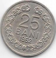 *Romania 25 Bani  1952 Km 85.1   Unc !!! - Roumanie