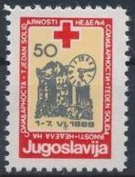 Yougoslavie Nobel Red Cross Croix Rouge - Nobel Prize Laureates