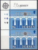 JERSEY - 1984 - Serie Completa Nuova MNH: Yvert 314 (coppia), 315 (quartina) E 316 (coppia), Europa. - Jersey