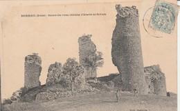 Drome : BOURDEAUX : Ruines Des Vieux Chateaux D'alberte De Poitiers - France