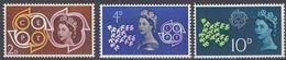 UK - REGNO UNITO - 1961 -  Serie Completa Di  3 Valori Nuovi MNH: Yvert 362/364, Europa. - 1952-.... (Elisabetta II)