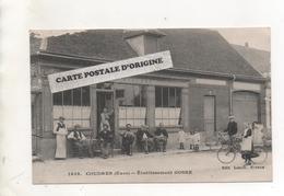 27 - COUDRES - ETABLISSEMENT GOSSE - CAFE - BILLARD - France
