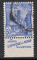 TUNISIE N°181a  Avec Bande Publicitaire - Used Stamps