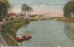 10 Nogent Sur Seine  Pont De Chemin De Fer  Ligne Nogent à Sens - Nogent-sur-Seine