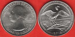 "USA Quarter (1/4 Dollar) 2018 P Mint ""Cumberland Island"" UNC - 2010-...: National Parks"