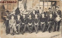 CARTE PHOTO :  LEYNES ET CHASSELAS CONSCRITS CLASSE 1887 69 RHONE - France
