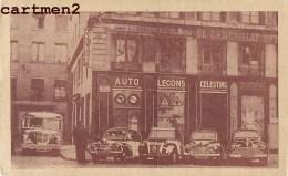 """LYON 7 PLACE DES CELESTINS AUTO-ECOLE """"AUTO-LECONS CELESTINS """" AUTOMOBILE 69 RHONE - Lyon"""