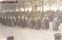 CARTE PHOTO : LYON EVENEMENT JUSTICE A AVOCAT JUGE PROCUREUR DEFILE MANIFESTATION FUNERAILLE ? 69 RHONE - Lyon