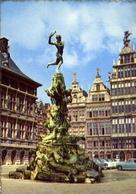 Anvers - Monument De Brabo - Formato Grande Viaggiata – E 7 - Cartoline