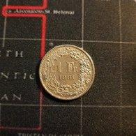 1 Franc Suisse 1981 Helvetia - Suisse