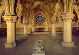 Cistercienser - Abtei Heiligenkreuz No - Kapitelhaus Mit Grabmai  Fried Des Streitbaren - Formato Grande Non Viaggiata – - Cartoline