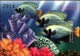 72263) MICRONESIA-PESCI-POMACANTHUS IMPERATOR-MNH**  -BF-78 - Micronesia