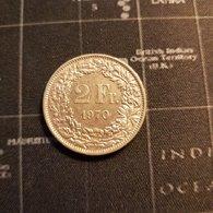 2 Francs Suisse 1970 Helvetia - Suisse