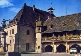 Colmar - Haut Rhtn - La Fontaine De Scwendi Et L'ancienne Douane De 1480 - Formato Grande Non Viaggiata – E 7 - Cartoline