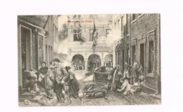 L'incendie De Visé. - Guerre 1914-18