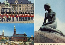Copenhagen - Formato Grande Viaggiata – E 7 - Cartoline