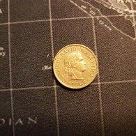 5 Rappen Cent Suisse 1970 Helvetia - Suisse