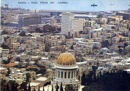 Haifa - View From Mt Carmel - Formato Grande Non Viaggiata – E 7 - Cartoline