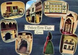 Lima - Palacio Torre Taglie - Formato Grande Non Viaggiata – E 7 - Cartoline
