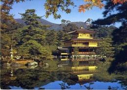 Kinkakuji Temple - Golden Pavilion - Kyoto - Formato Grande Viaggiata – E 7 - Cartoline