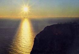 Midnightsaun At North Cape - Formato Grande Viaggiata – E 7 - Cartoline