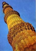 Outub Minar - Delhi - Formato Grande Viaggiata Mancante Di Affrancatura – E 7 - Cartoline